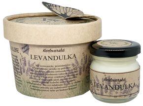 Krušnohorská lázeňská kosmetika Karlovarská Levandulová mast