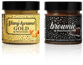 BIG BOY balíček Slaný karamel GOLD + Brownie @mamadomisha
