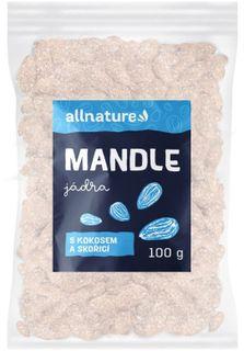 Allnature Mandle s kokosem a skořicí