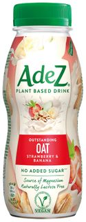 AdeZ Outstanding Oat Strawberry & Banana rostlinný nápoj 250 ml
