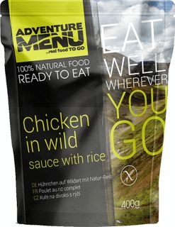 Adventure Menu Kuřecí na divoko s rýží