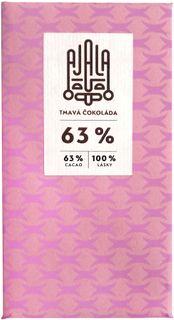 AJALA Tmavá čokoláda 63 % kakao 45 g