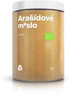 Aktin Arašídové máslo BIO jemné arašídy 1000 g