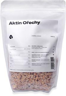 Aktin Arašídy loupané pražené na sucho 1000 g