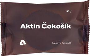 Aktin Čokošík arašídy v čokoládě 50 g