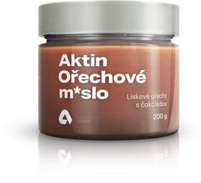 Aktin Ořechové máslo lískové ořechy/čokoláda 200 g