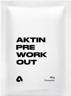 Aktin Preworkout pomeranč 30 g
