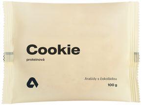 Aktin Proteinová Cookieska arašídy/čokoláda 100 g