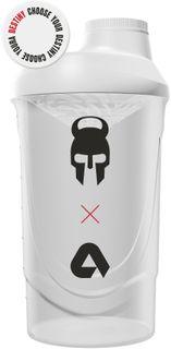 Aktin Shaker CrossFit Destiny bílá 600 ml