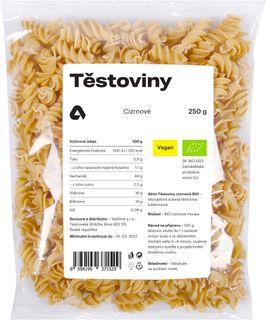 Aktin Těstoviny cizrnové BIO