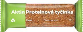 Aktin Vegan Protein Bar skořicové latté 50 g