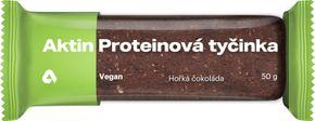 Aktin Vegan Protein Bar hořká čokoláda 50 g