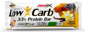 Amix Low-Carb 33% Protein Bar mandle/vanilka 60 g