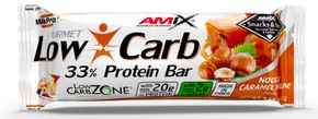 Amix Low-Carb 33% Protein Bar nugát/karamel 60 g