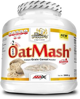 Amix Mr. Popper's OatMash jahoda/jogurt 600 g