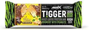 Amix Tigger Zero Bar vanilka/karamel 60 g