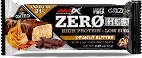 Amix Zero Hero 31% Protein Bar arašídové máslo 65 g