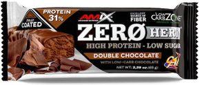 Amix Zero Hero 31% Protein Bar dvojitá čokoláda 65 g