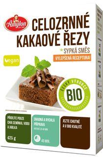 Amylon Celozrnné kakaové řezy BIO 425 g