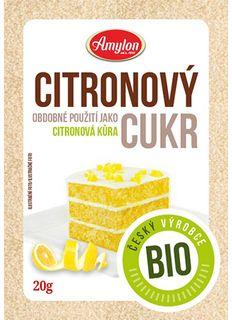 Amylon Citronový cukr BIO 20 g