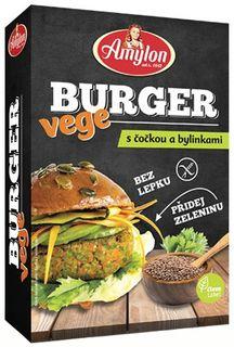 Amylon Vege Burger čočka/bylinky 125 g