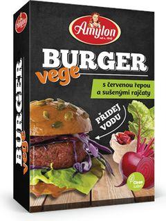 Amylon Vege Burger červená řepa/sušená rajčata 125 g