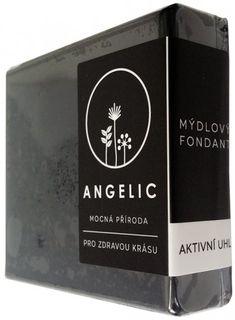 Angelic Mýdlový fondant Aktivní uhlí