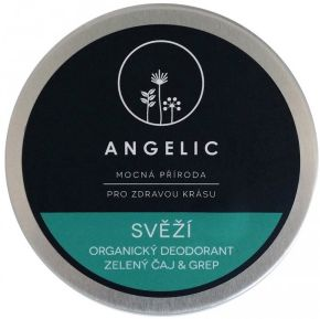 Angelic Svěží deodorant Zelený čaj & grep