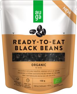AUGA ORGANIC Černé fazole 150 g