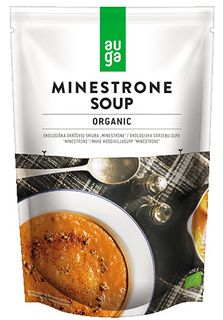AUGA ORGANIC Zeleninová polévka Minestrone 400 g