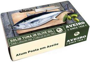 AVEIRO tuňák kousky v olivovém oleji 120 g