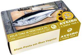 AVEIRO tuňák kousky v rostlinném oleji
