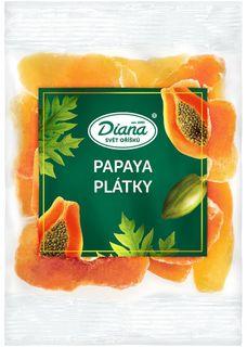 Diana Sušená papaya plátky