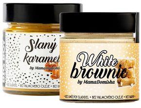 BIG BOY Balíček White Brownie a Slaný karamel