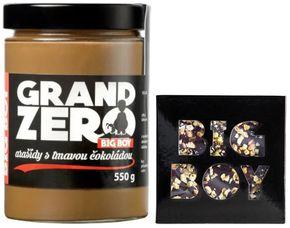 BIG BOY Grand Zero s tmavou čokoládou tmavá čokoláda 550 g