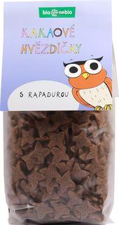 Bio Nebio Kakaové hvězdičky s Rapadurou