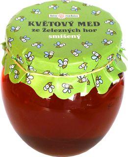 Bio Nebio Květový med ze Železných hor smíšený