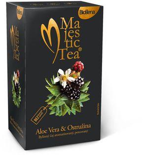 Biogena Majestic Tea aloe vera/ostružina 20 x 2,5 g