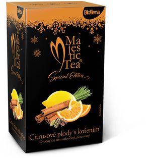 Biogena Majestic Tea citrusové plody s kořením 20 x 2,4 g