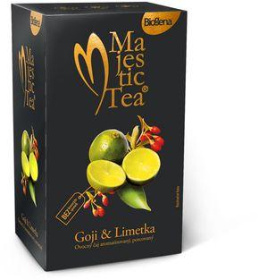 Biogena Majestic Tea goji/limetka 20 x 2,5 g