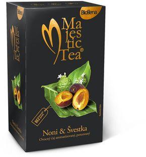 Biogena Majestic Tea noni/švestka 20 x 2,5 g