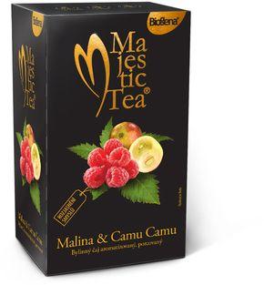 Biogena Majestic Tea malina/camu camu 20 x 2,5 g