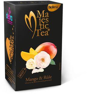Biogena Majestic Tea mango/růže 20 x 2,5 g