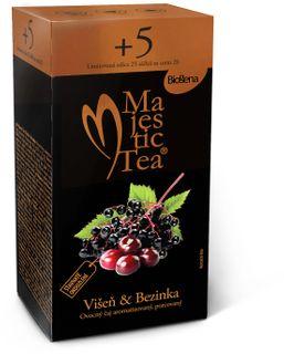 Biogena Majestic Tea višeň/bezinka 20 x 2,5 g