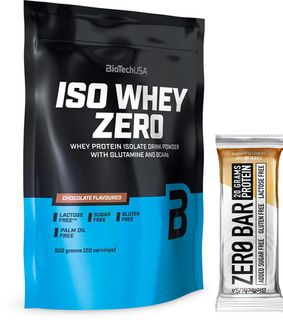 BioTech USA ISO Whey ZERO Native banán 500 g