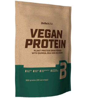 BioTech USA Vegan Protein vanilkové cookie 500 g