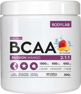 Bodylab BCAA Instant passion mango 300 g