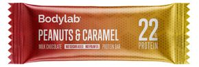 Bodylab The Protein Bar arašídy/karamel 65 g