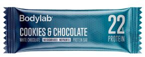 Bodylab The Protein Bar bílá čokoláda/cookie 65 g