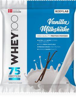 Bodylab Whey Protein 100 vanilkový milkshake 30 g